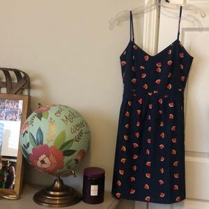 J. Crew Summer Watermelon Dress with Pockets